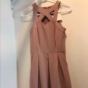 homecoming/formal/prom pretty blush dress 💕💄👛